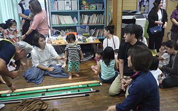 保育園親子防災教室2