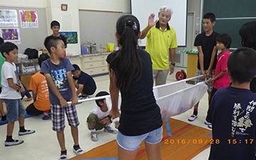 泡瀬小防災クラブ防災訓練2
