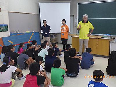 子どもたちへの防災教育1