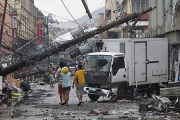 台風30号ハイエン